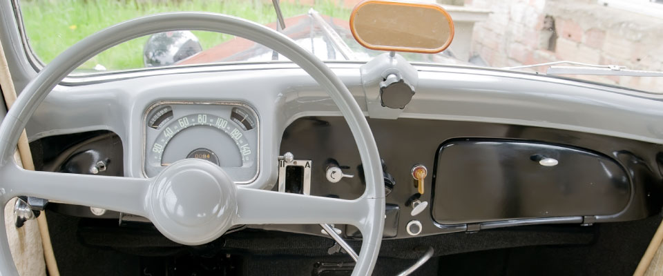 Steering Wheel and Dash Board